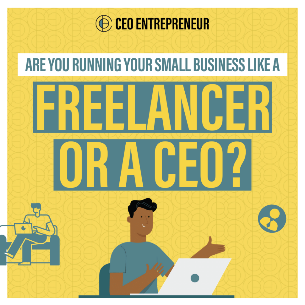 How To Run Your Small Business Like A CEO - Part 1