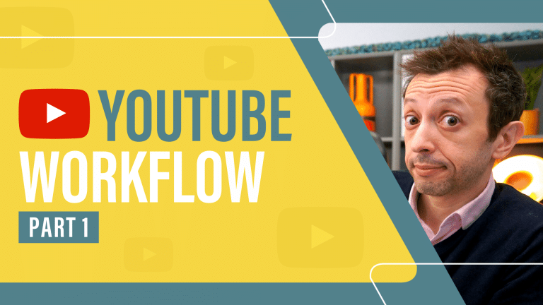 YouTube Workflow Part 1