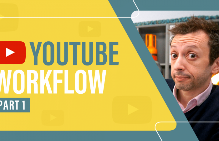 YouTube Workflow Part 1